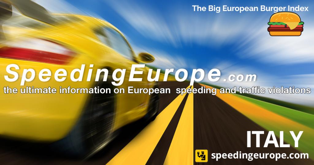 SpeedingEurope | Italy
